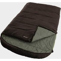 Outwell Campion Lux Double Sleeping Bag, Brown/Brown