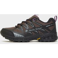 North Ridge Womens Blazer Trail Running Shoes - Black/Blkpur, Black/BLKPUR
