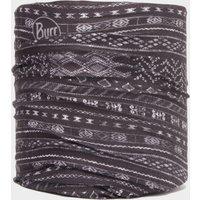 Buff CoolNet UV+ Flash Logo Neckwear, Grey/BLK