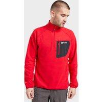 Berghaus Mens Kedron Half Zip Fleece  Red