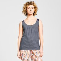 Weird Fish Nilly Striped Jersey Vest, Navy/NVY
