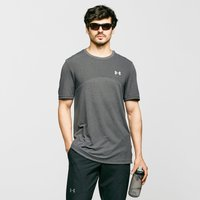 Under Armour Men's UA Vanish Seamless Short Sleeve Tee, Grey