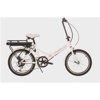 Compass Comp Electric Folding Bike - White, White