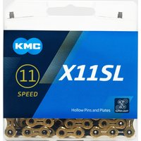 Kmc Chains X11SL TI-N Bike Chain - Black, Black