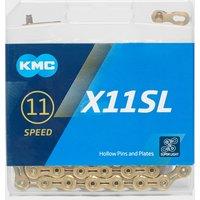 Kmc Chains X11SL TI-N Bike Chain - Gold, Gold