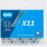 Kmc Chains X11 118 Link Bike Chain, Silver