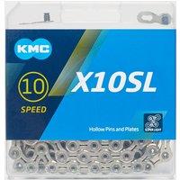 Kmc Chains X10Sl Bike Chain - Silver/Silver, SILVER/SILVER