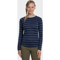 Berghaus Womens Striped Long Sleeve 2.0 T-shirt  Navy