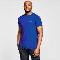 Berghaus Mens 24/7 Tech T-Shirt, Blue/DBL