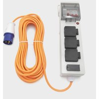 Eurohike Mobile Mains Kit with USB (15m), Grey/LGY