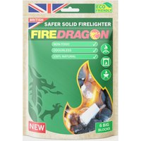Fire Dragon Solid Fuel Blocks (6 Pack), Multi Coloured