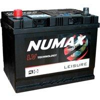 NUMAX LV22MF 12V 75Ah Sealed Leisure Battery, NO/NO