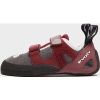 EVOLV Elektra Climbing Shoes, Red/Grey