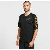 Fox Men's Defend Short-Sleeve Jersey - Black/Blk, Black/BLK