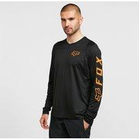 Fox Men's Defend Long Sleeve Jersey, Black