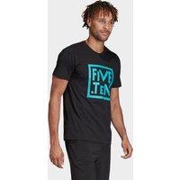 adidas Five Ten GFX T-Shirt, BLK/BLK