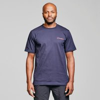 Berghaus Core Logo Short Sleeve T-Shirt - Blue, Blue