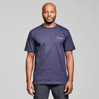 Berghaus Core Logo Short Sleeve T-shirt  Blue