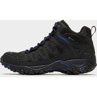Merrell Men's Accentor Sport Mid GORE-TEX Walking Boots, Black/Blue