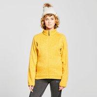 Brasher Womens Rydal Full Zip Fleece  Yellow