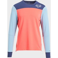 Fox Men's Defend Delta Long Sleeve Jersey, Orange