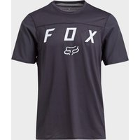 Fox Flexair Short Sleeve Moth Jersey, Black