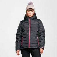 Peter Storm Womens Blisco Hooded Jacket - Black/Black,