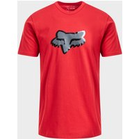Fox Glassy Short Sleeve Premium Tee, RED/RED