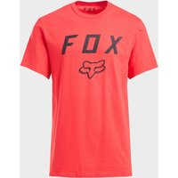 Fox Legacy Moth Short Sleeved Tee, Red