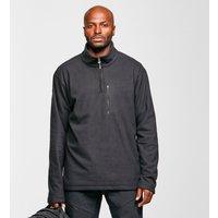 Brasher Men's Bleaberry Half-Zip Fleece, Black/BLK
