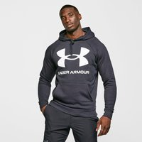 Under Armour Rival Large Logo Overhead Hoodie, Black/BLK