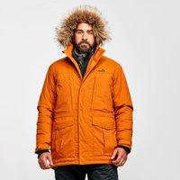 Peter Storm Mens Peter Waterproof Parka, Orange/ORG