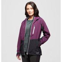 Peter Storm Womens Colourblock Waterproof Jacket - Purple/Pu