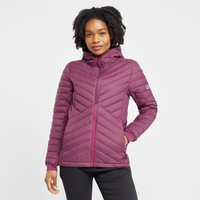North Ridge Womens Journey Insulated Jacket, Purple