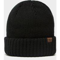 Sealskinz Waterproof Cold Weather Roll Cuff Beanie Hat, Black/BLK