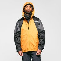 The North Face Mens Farside Waterproof Jacket, Yellow/Yellow