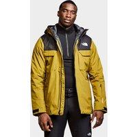 The North Face Mens Fourbarrel Zip-In Triclimate Jacket - Khaki/Black, Khaki/Black