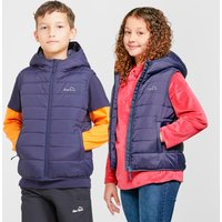 Peter Storm Kids' Blisco Insulated Gilet, NVY/NVY