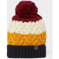 Alpine Men's Gavin Stripe Bobble Hat, Multi/Multi