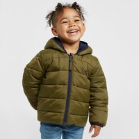 Peter Storm Baby Walrus Insulated Jacket, Khaki/Navy
