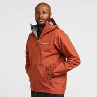Berghaus Mens Stormcloud Waterproof Jacket - Red/Drd$, Red