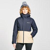 Berghaus Womens Rhyna Waterproof Jacket - Navy/Nvy/Crm, Navy
