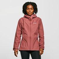 Berghaus Womens Stormcloud Waterproof Jacket  Dark Pink