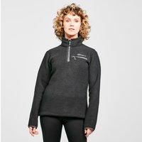 Berghaus Women's Darria Half Zip Fleece, Black