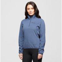 Berghaus Women's Hendra Half-Zip Fleece, Blue/PUR$