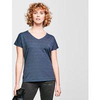 Berghaus Womens Optic Short-sleeve T-shirt  Navy