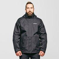 Berghaus Men's Alpha II 3-in-1 Jacket, Black