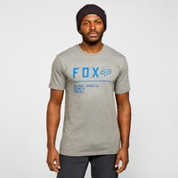 Fox Men's Non Stop Premium Short Sleeve T-Shirt, Grey/GRY