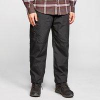 Craghoppers Men's Kiwi Winter Lined Trousers, Black/BLK