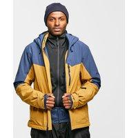 Salomon Mens Untracked Jacket - Yellow/Navy, Yellow/Navy
